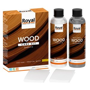 Oranje Furniture Care Teakfix Wood Care Kit + Cleaner