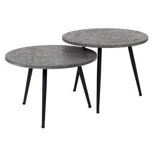 Davidi Design Bera Ronde Salontafel Set