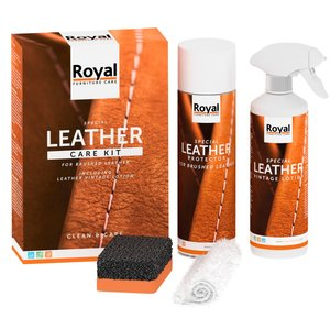 Oranje Furniture Care Brushed Leather Care Kit
