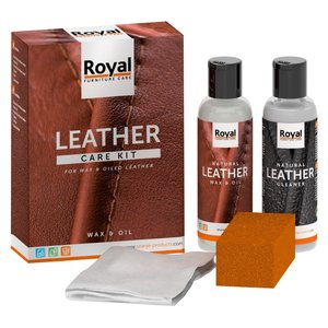 Oranje Furniture Care Leather Care Kit - Wax & Oil