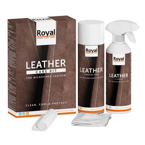Oranje Furniture Care Microfibre Leather Care Kit