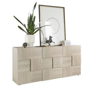 Benvenuto Design Dama Dressoir Small Oak 3-deurs