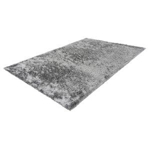Lalee Twist 160 x 230 cm Vloerkleed Zilver