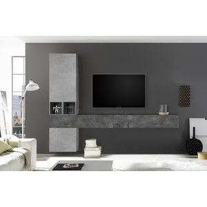 Benvenuto Design Bex TV-wandmeubel 50 Oxid