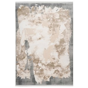 Pierre Cardin Trocadero 80x150 cm Vloerkleed Beige/Zilver