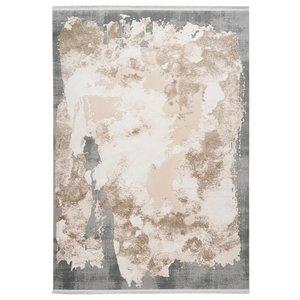 Pierre Cardin Trocadero 200 x 290 cm Vloerkleed Beige / Zilver