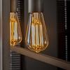 8x Lichtbron LED filament druppel