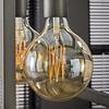 8x Lichtbron LED filament bol ø12,5