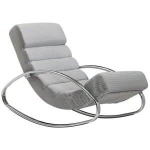Sky Style Lounger Relaxfauteuil Grijs