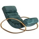 Lounger Relaxfauteuil Velvet Groen