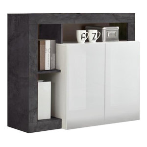 Benvenuto Design Hamburg Dressoir 2 deurs Wit / Oxid