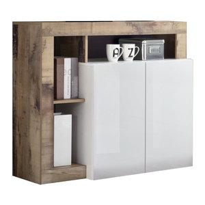 Benvenuto Design Hamburg Dressoir 2 deurs Wit / Eiken