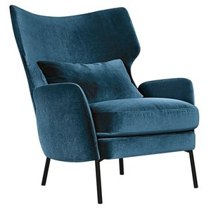 Sits Alex Fauteuil Marineblauw