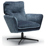 Amy Fauteuil Donkerblauw