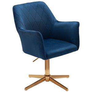 Sky Style Cecile Bureaustoel Donkerblauw