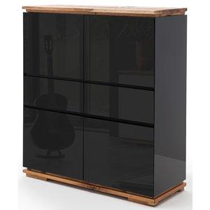 Nova Design Chiaro Opbergkast Zwart Hoogglans