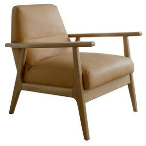 Sits Jack Fauteuil Latte Leder