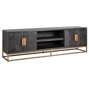 Richmond Interiors Blackbone TV-meubel 200 cm Brushed Goud