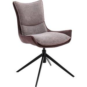 Nova Design Kitami Draaistoel Roestbruin