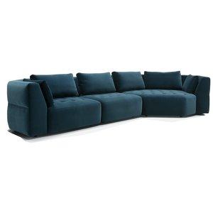 Sits Cleo 2x1-Zit + Cozy Corner Hoekbank Blauw