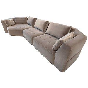 Sits Cleo Cozy Corner + 2x1-Zit Hoekbank Grijs