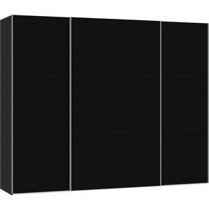 Jutzler Zwart Schuifdeurkast 278 cm