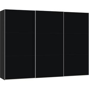Jutzler Zwart Schuifdeurkast 303 cm