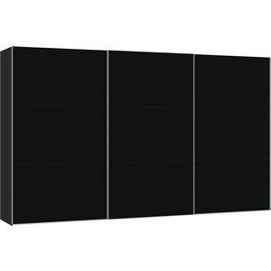 Jutzler Zwart Schuifdeurkast 379 cm