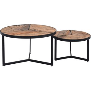 M2 Kollektion Oxford Ronde Salontafel Set
