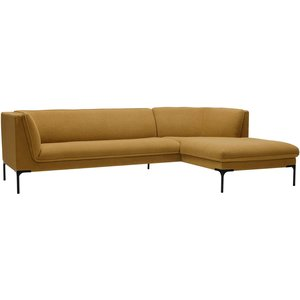 Sits Frej 3-Zits Bank + Chaise Longue Mosterd