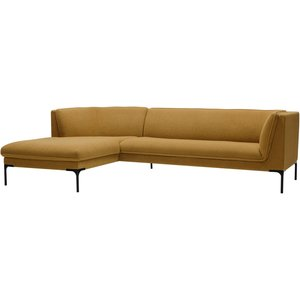 Sits Frej Chaise Longue + 3-Zits Bank Mosterd