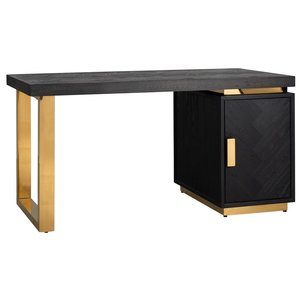 Richmond Interiors Blackbone Bureau Goud