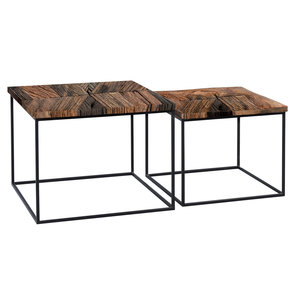 M2 Kollektion Alabama Vierkante Salontafel Set