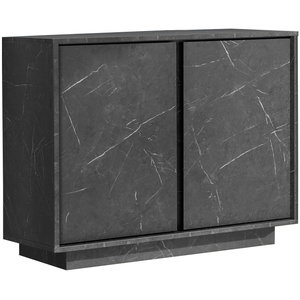 Benvenuto Design Carrara Dressoir 2 deurs Antraciet