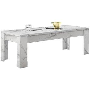 Benvenuto Design Carrara Salontafel Wit