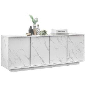 Benvenuto Design Carrara Dressoir 4 deurs Wit