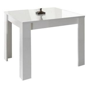 Benvenuto Design Ice Vierkante Eettafel Wit Hoogglans