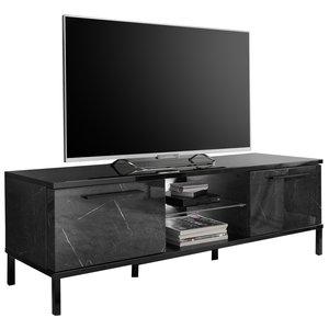Benvenuto Design Mango TV-meubel Zwart Hoogglans