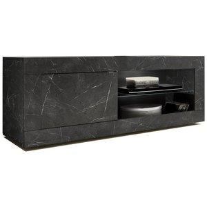 Benvenuto Design Enzo TV-meubel Marmer Antraciet