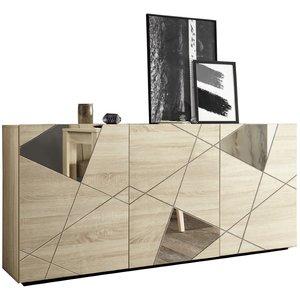 Benvenuto Design Vittoria Dressoir 3-Deurs Sonoma Eiken