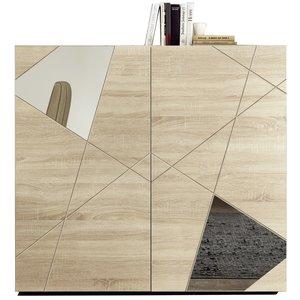 Benvenuto Design Vittoria Opbergkast Sonoma Eiken