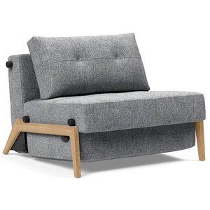 Innovation Living Cubed Slaapstoel Grijs / Eiken