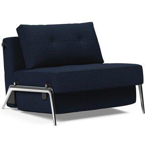 Innovation Living Cubed Slaapstoel Blauw / Aluminium