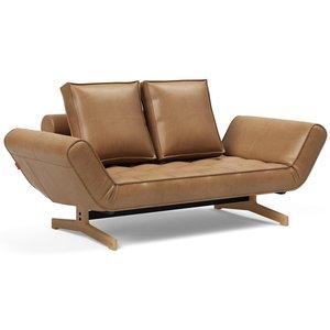 Innovation Living Ghia Slaapbank Bruin / Wood