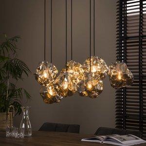 Davidi Design Rock Chromed Hanglamp 7L