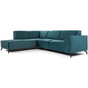 Lions Design Fancy 3-zits Hoekbank Links Groen