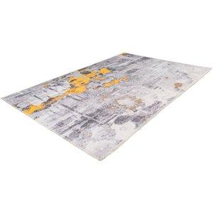 Arte Espina Peron 80 x 150 cm Vloerkleed Grijs / Goud
