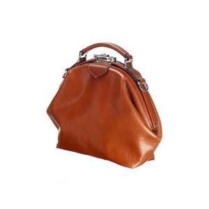 Mutsaers Leather Ladies Bag - The Galore - Cognac