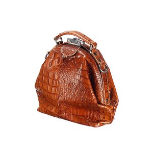 Mutsaers Dames Tas - The Galore - Cognac Croco