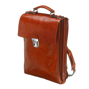 Mutsaers Ladies Bag - Leather Backpack - The Ryder - Cognac